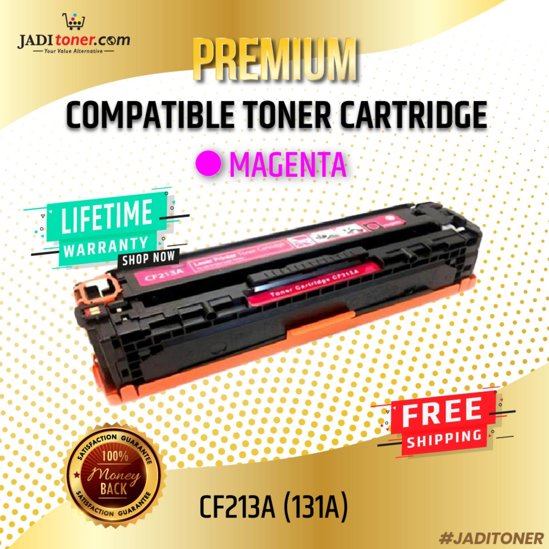 Compatible CF213A 131A Magenta Laser Toner Cartridge For HP Color LaserJet Pro 200 M251nw / HP Color LaserJet Pro 200 M276n / M251 / M276 / HP CF213 213A