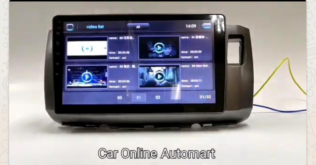 Perodua Alza - 1GB +16G Android 8.1 Universal Car Multimedia Head Unit Radio built in GPS Bluetooth WIFI USB AUX Touch Screen