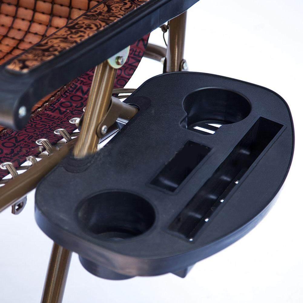 เช่าเก้าอี้ เชียงใหม่ ชายหาดกลางแจ้ง Nap แบบพกพาอุปกรณ์เสริมพลาสติกเก้าอี้พับได้ถาด