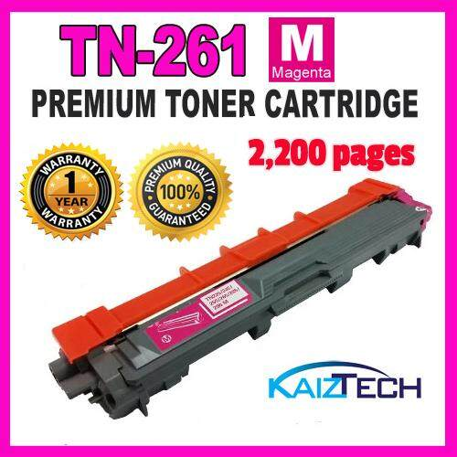 Brother TN-261 Magenta Premium Toner Cartridge for HL-3150CDN, HL-3170CDW, MFC-9140CDN, MFC-9330CDW Printer