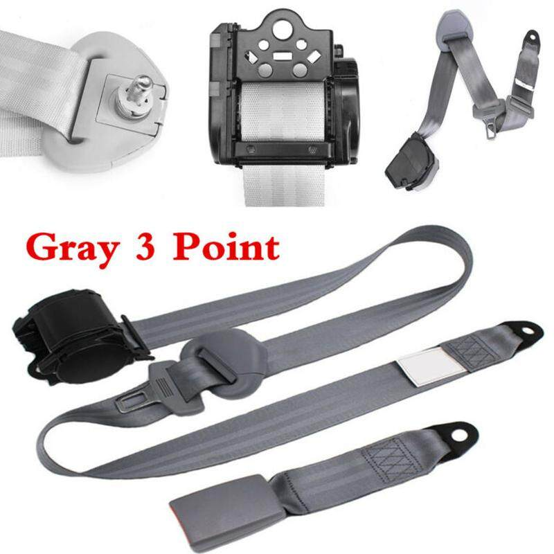Accessories Seat Belt Set Kit Strap Buckle Travel Interior Replacement Car  Universal 3 Point