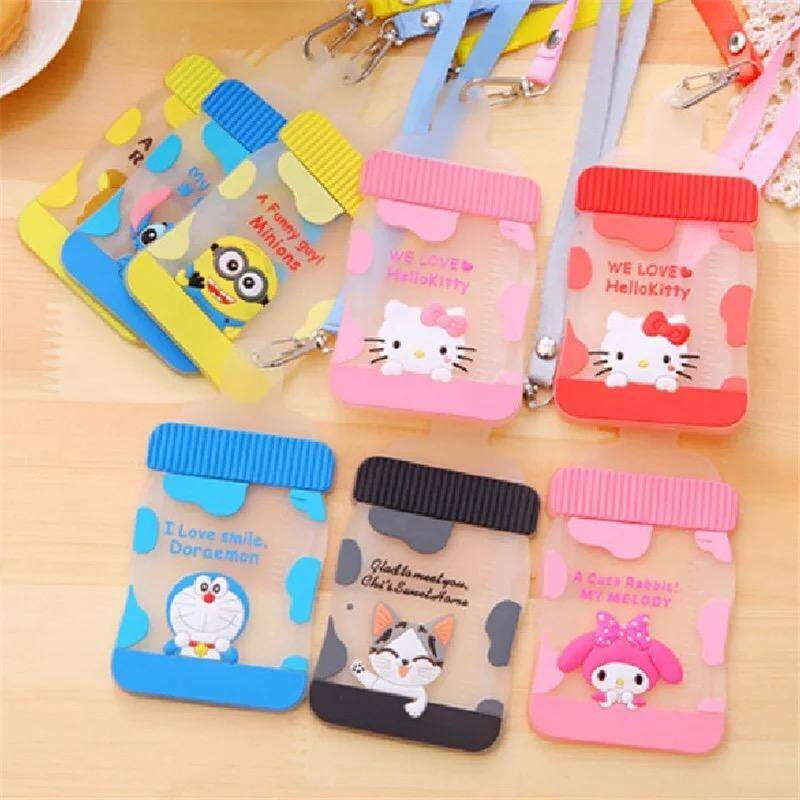 Card Tag Badge Holder[Kitty/Doraemon/Melody]