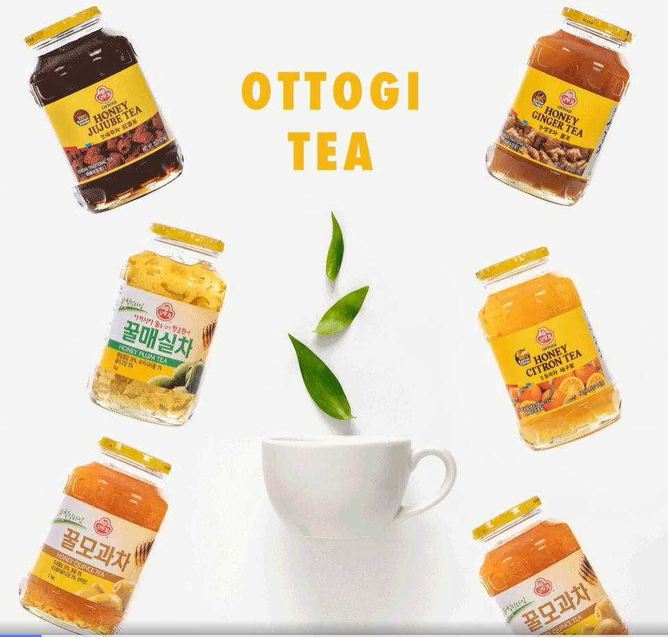 READY STOCK] OTTOGI Honey Ginger Tea/ 韩国进口姜味蜂蜜茶 - (1kg) | Lazada