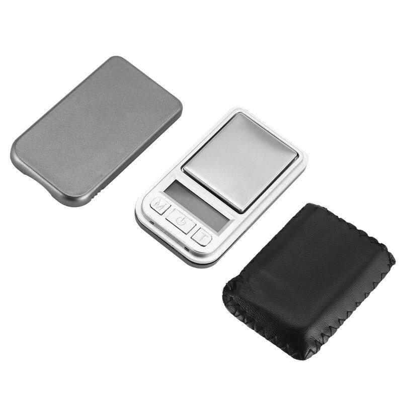 Titik Mini Timbangan Saku Digital 200G 0.01 Presisi untuk Dapur Perhiasan Emas