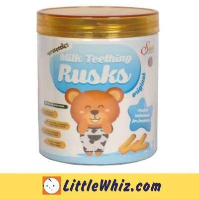 Natufoodies: Milk Teething Rusks
