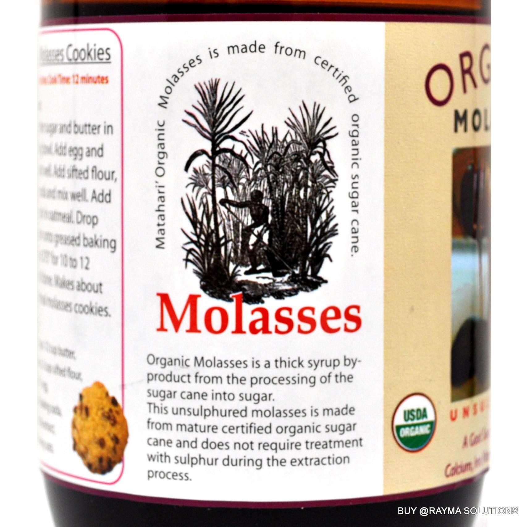 [$AVE More!] MH FOOD Organic Unsulphured Blackstrap Molasses 900g (Twin  Pack)