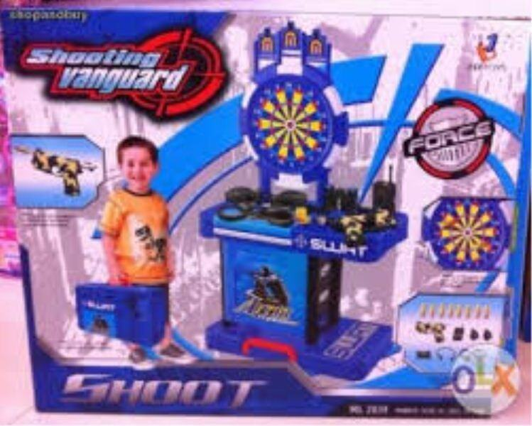 Police Force SWAT Shooting Vanguard and Accessories Toys
