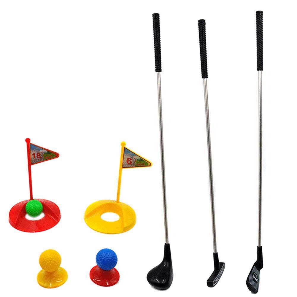Bisa CÁ TUYẾT Golf Bộ Đồ Chơi dành cho Trẻ Em Học Hoạt Động Giáo Dục Sớm Ngoài Trời Tập Thể Dục Đồ Chơi cho Bé Trai và Bé Gái