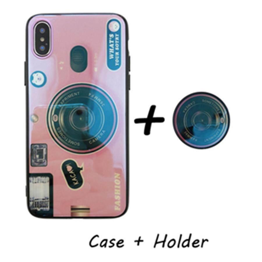 Untuk Oppo F7 Casing Ponsel Kaca Antigores Luxury Sangat