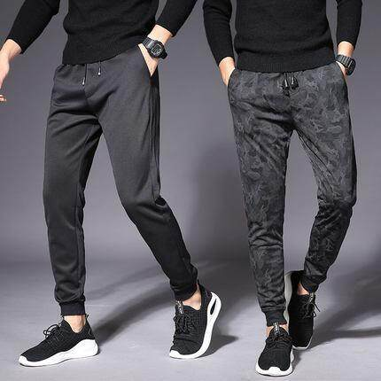 (Ready Stock) Korean Style Men Harlem Pant Collection 299A-4932 (Pure Black)