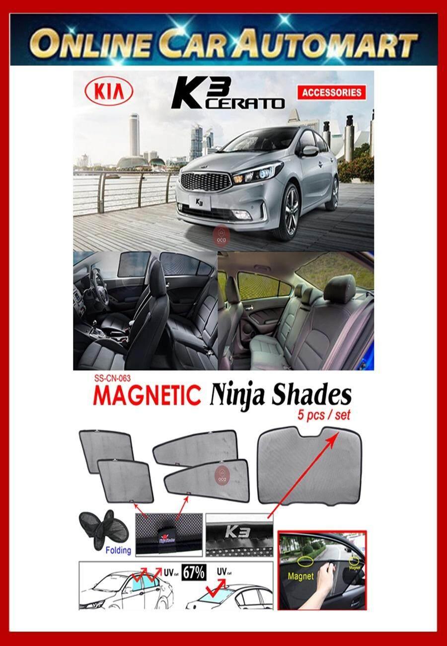 Kia Cerato K3 Magnetic Ninja Sun Shade sunshade (5PCS)
