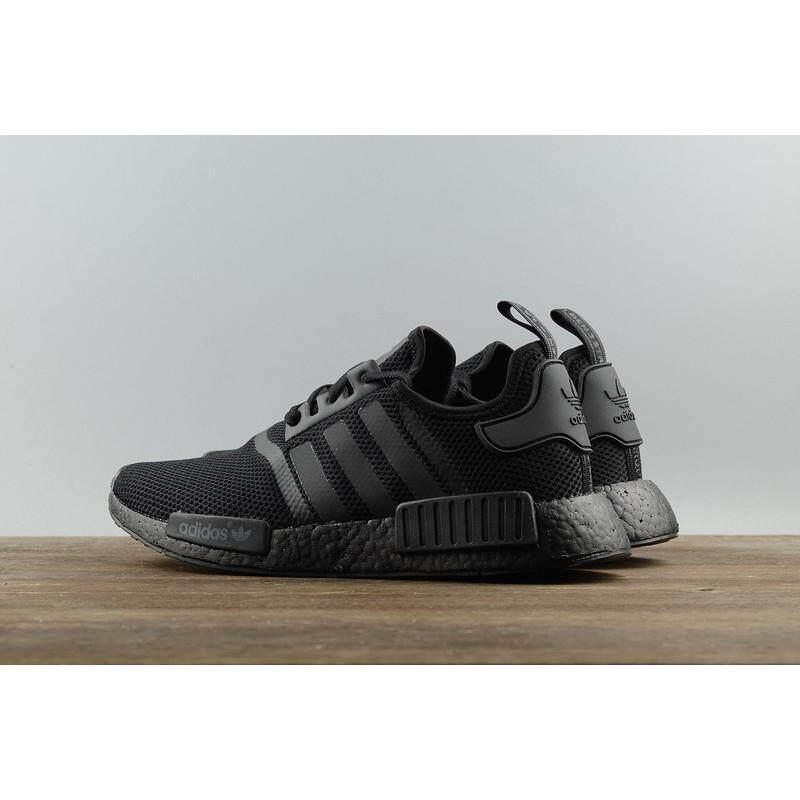 ยี่ห้อนี้ดีไหม  พิษณุโลก รองเท้า Adidas NMD R1 Triple สีดำ S31508 ทั้งหมด - สีดำ webshoe รองเท้าผ้าใบ