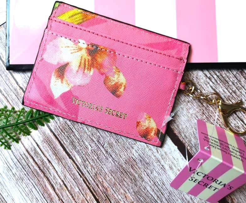 VS Victoria\'s Secret Keychain Card Holder