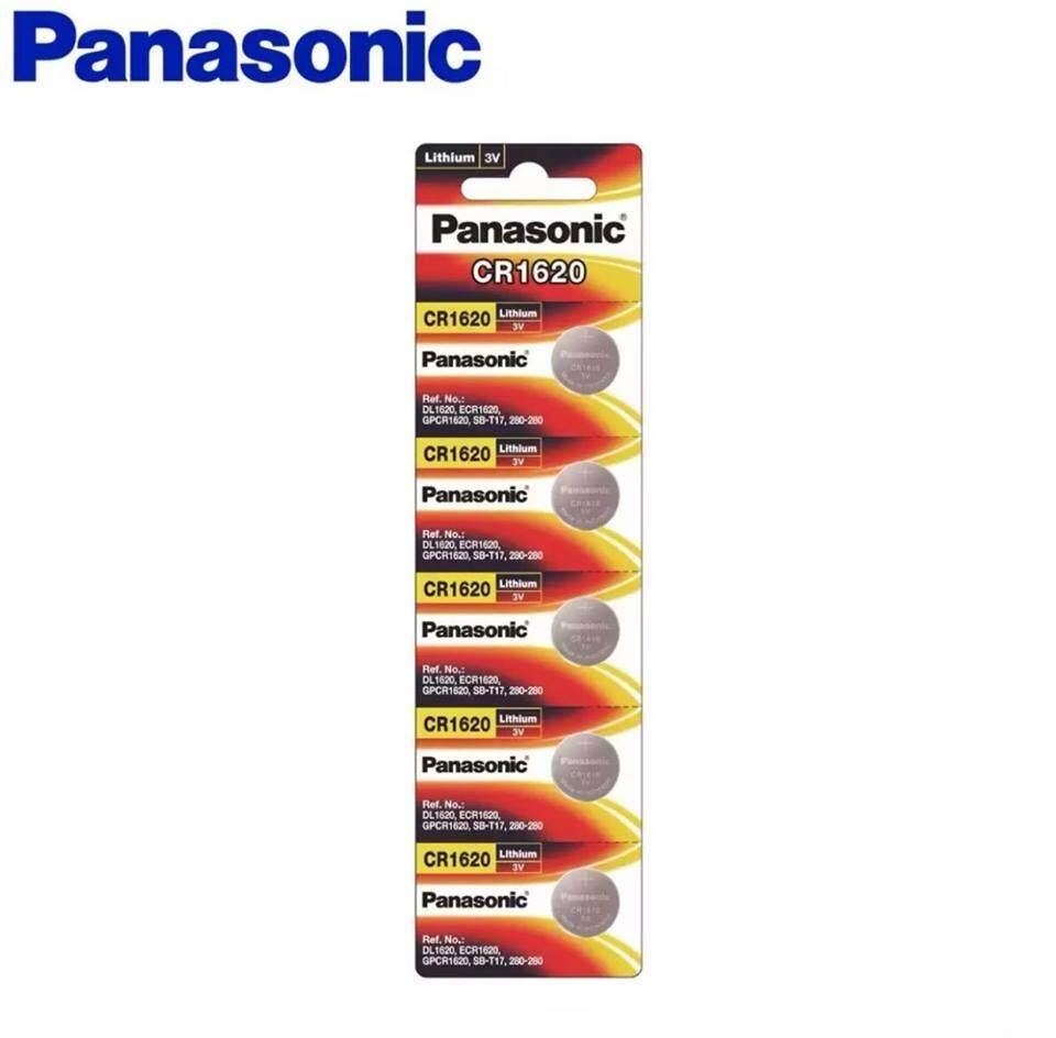 Panasonic Lithium Coin CR1620 5cells Pack Battery (Panasonic Malaysia)