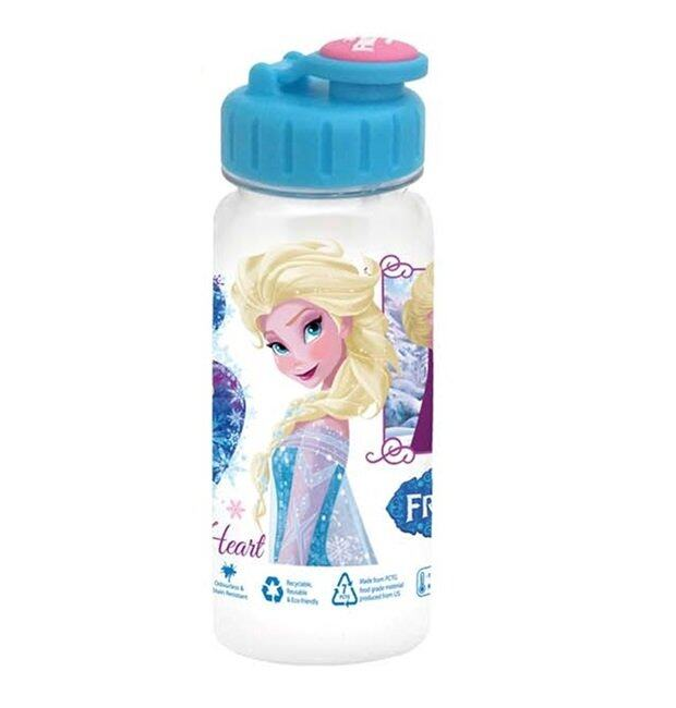 Disney Frozen Pencil Bag 350ML Bottle Gift Set