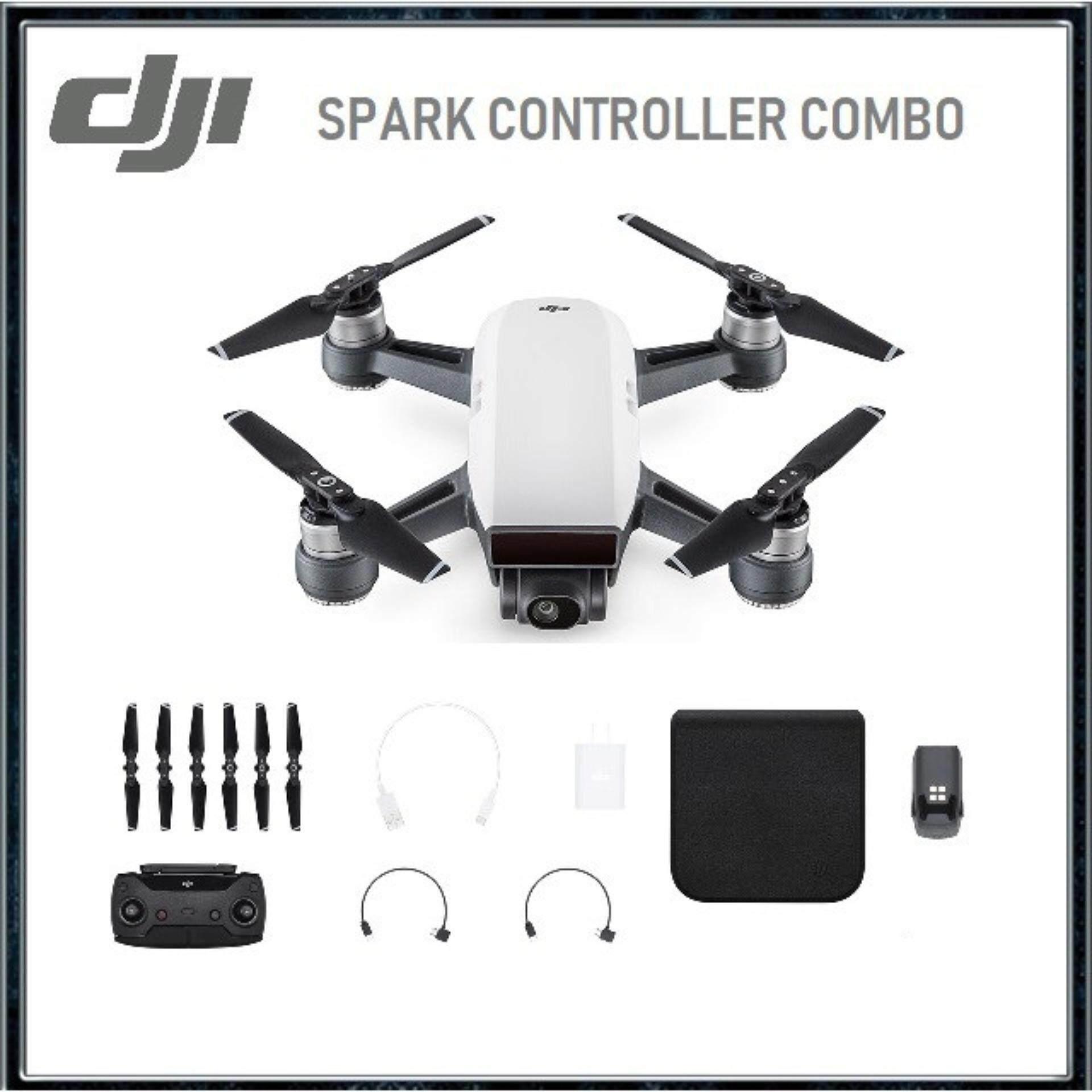 DJI Spark Remote Controller Combo (Alpine White) [Original DJI Warranty]