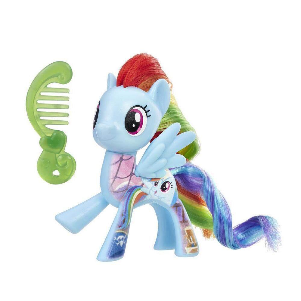 My little Pony -All about Rainbow Dash tout sur rainbow dash figure toy collection (E0728/B8924)