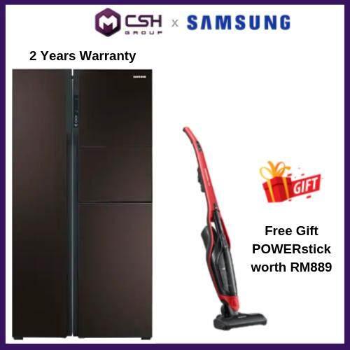 Samsung  2 Door 590 ℓ Side by Side with Digital Inverter (RS554NRUA9M) RS554NRUA9M/ME