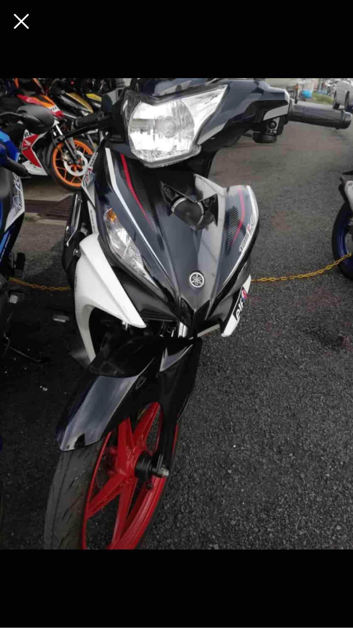 MOTORCYCLE YAMAHA LC135 BRAND NEW