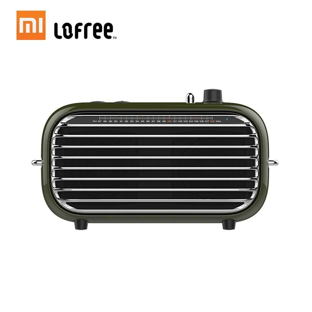 ยี่ห้อนี้ดีไหม  Xiao Mi Mijia Lofree ลำโพงบลูทูธ Retro Retro คุณภาพสูงเสียงวิทยุเอฟเอ็มพกพาได้ Wireless Soundbox ลำโพงเบสเครื่องเล่นเสียงเครื่องขยายเสียงเพลงแบบชาร์จไฟได้ MINI MP3 Player 2000 mAh