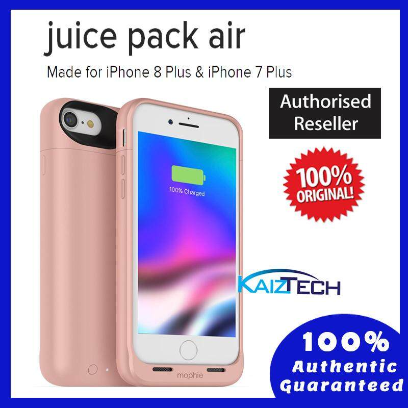 Original Mophie Juice Pack Air Wireless Battery Case 2,420mAh for iPhone 7 Plus & iPhone 8 Plus