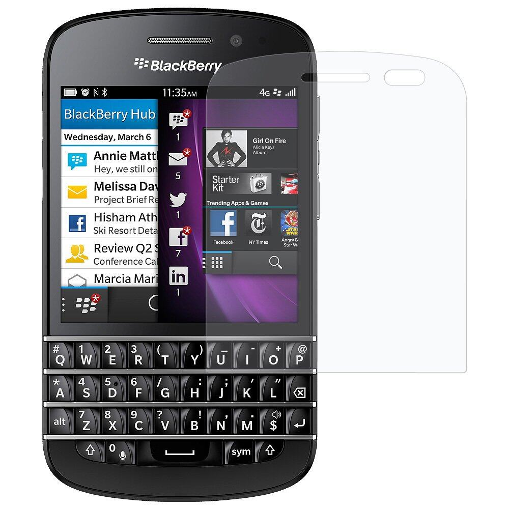 Premium Blackberry Q10 Clear Screen Protector