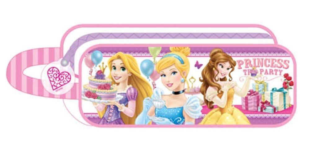 Disney Princess Square Pencil Bag Set