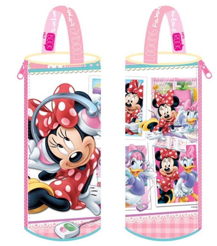 Disney Minnie Round Pencil Bag Set