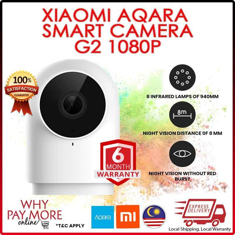 [READY STOCK] [NEW] Xiaomi Aqara Smart Camera G2 1080P Gateway Edition Zigbee Linkage Smart Devices IP Wifi Wireless Cloud Home Security