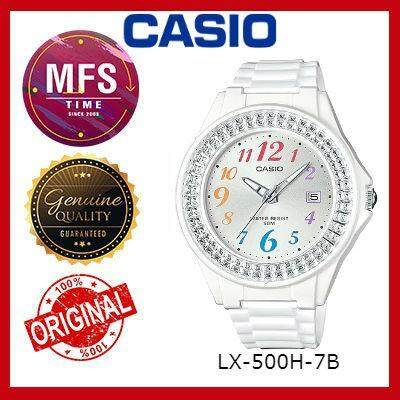 (2 YEARS WARRANTY) CASIO ORIGINAL LX-500H-7B SERIES YOUTH ANALOG-LADIES WATCH