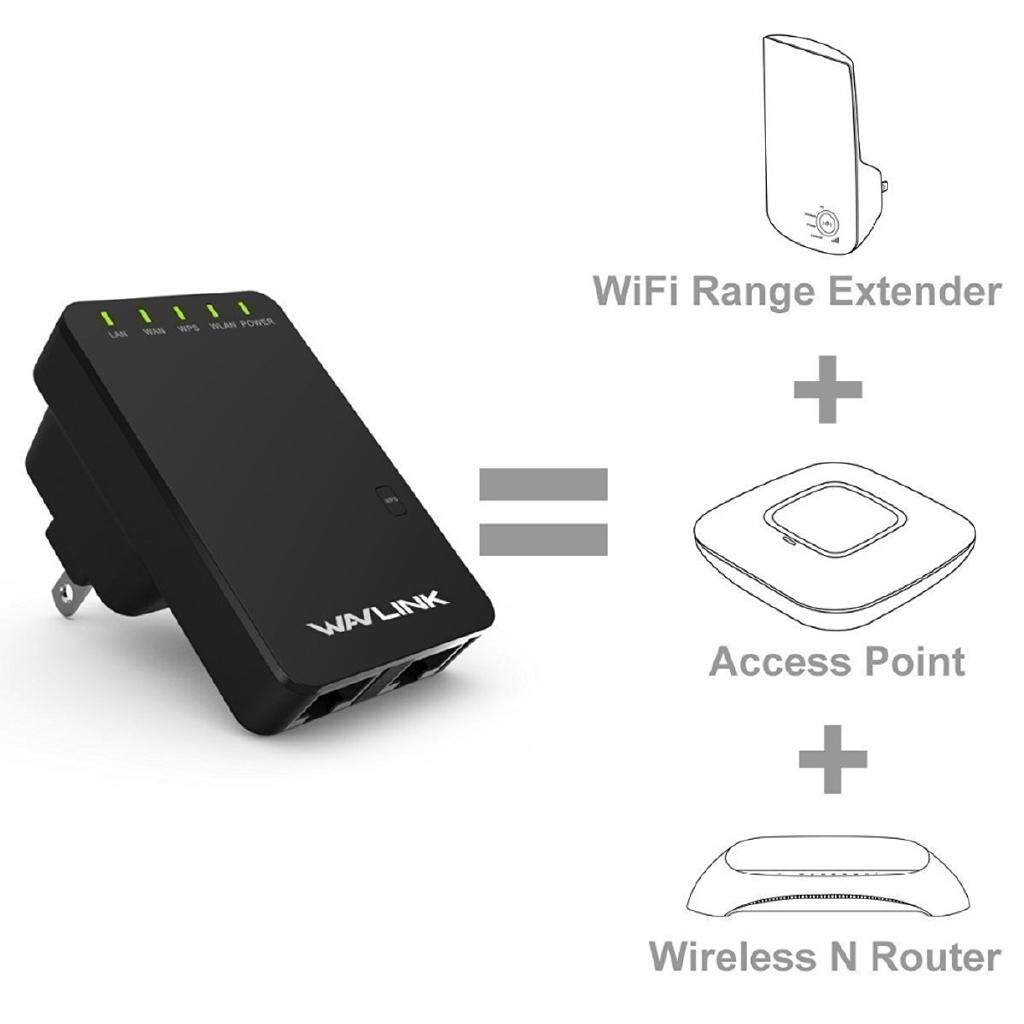 WL-WN523N2 300Mbps WiFi Router Repeater WIRELESS Range Extender Booster