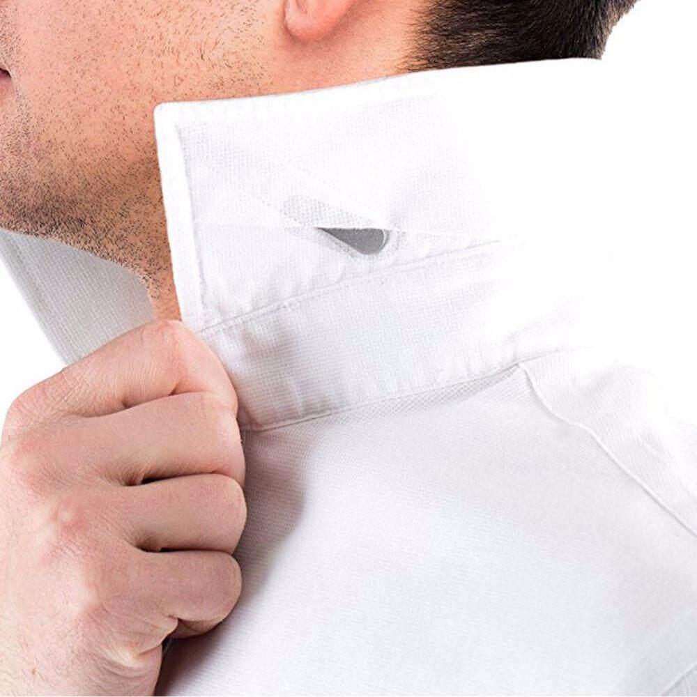 40pc Mens Metal Collar Stays Inserts Bone Stiffeners 4 Size in Plastic Box Gift
