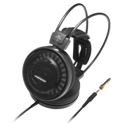 Audio Technica ATH-AD500X Audiophile Open-air Over-ear Headphones 53mm Drivers 100dB 3.5mm Jack with 6.3mm Adapter