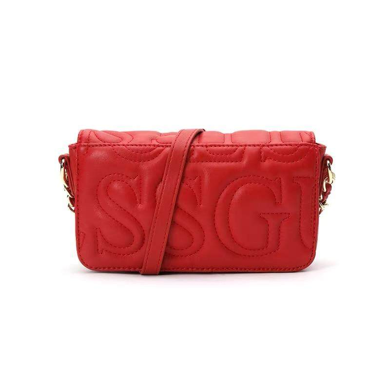 Guess Quilted Logo Crossbody Bag
