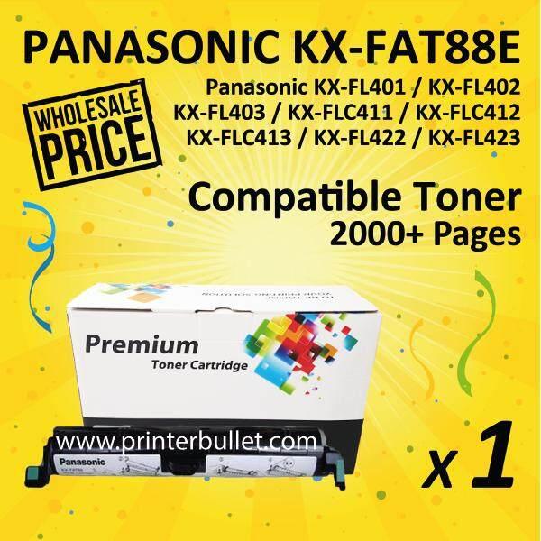 KX-FA88E Black Compatible Toner Cartridge For KX-FL401/KX-FL402/KX-FL403/KX-FLC411/KX-FLC412/KX-FLC413/KX-FL422/KX-FL423 Printer Toner