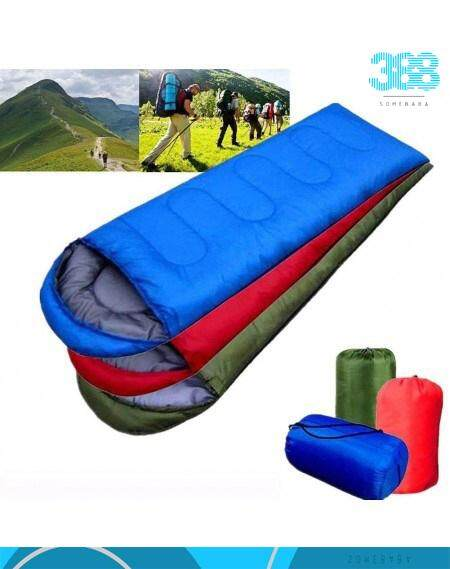 【READY STOCK】Cotton Portable And Resistant Outdoor Camping Hiking Travel Sleeping Bag