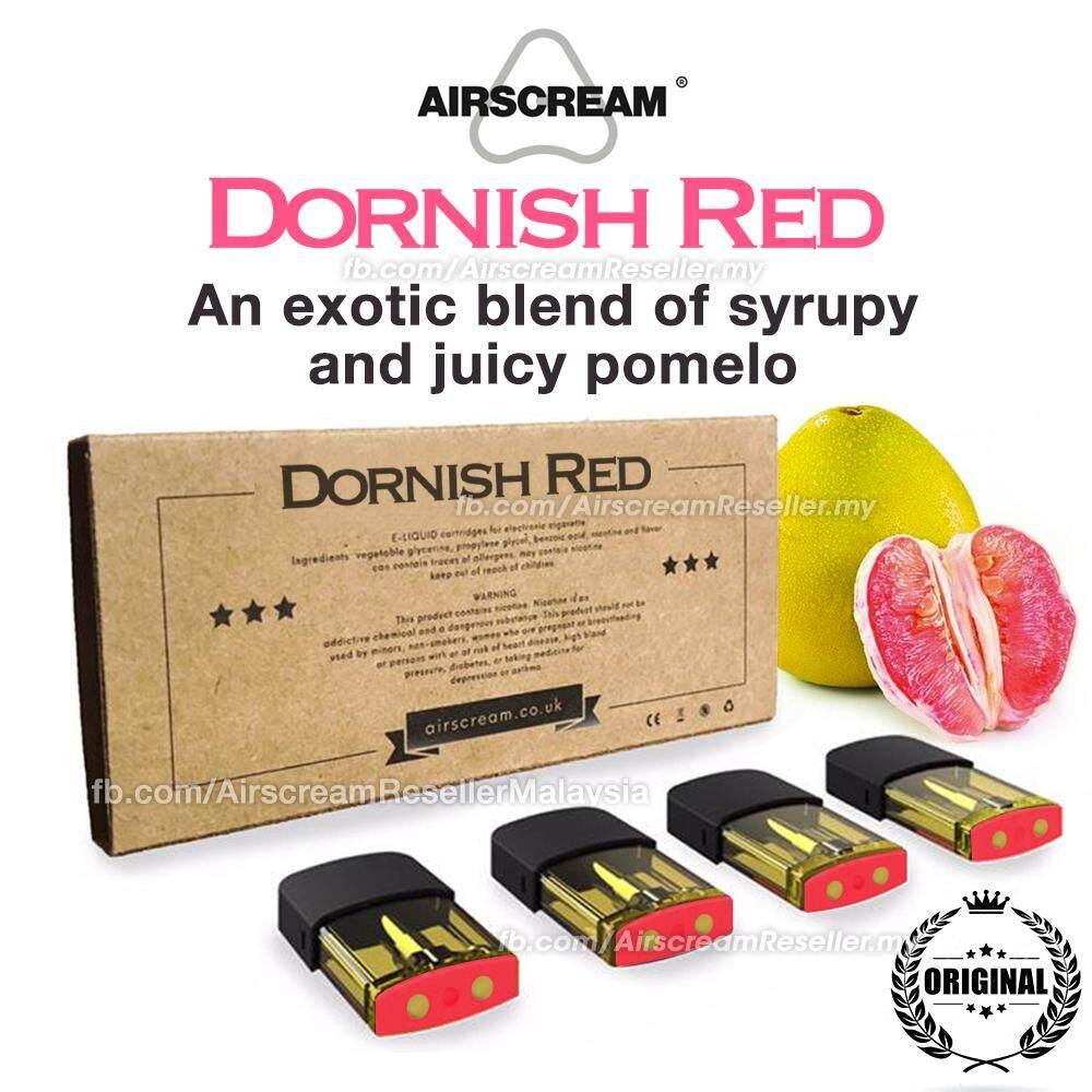 Airscream Airspops Cartridge Dornish Red Pod Flavour (4 Cartridges)