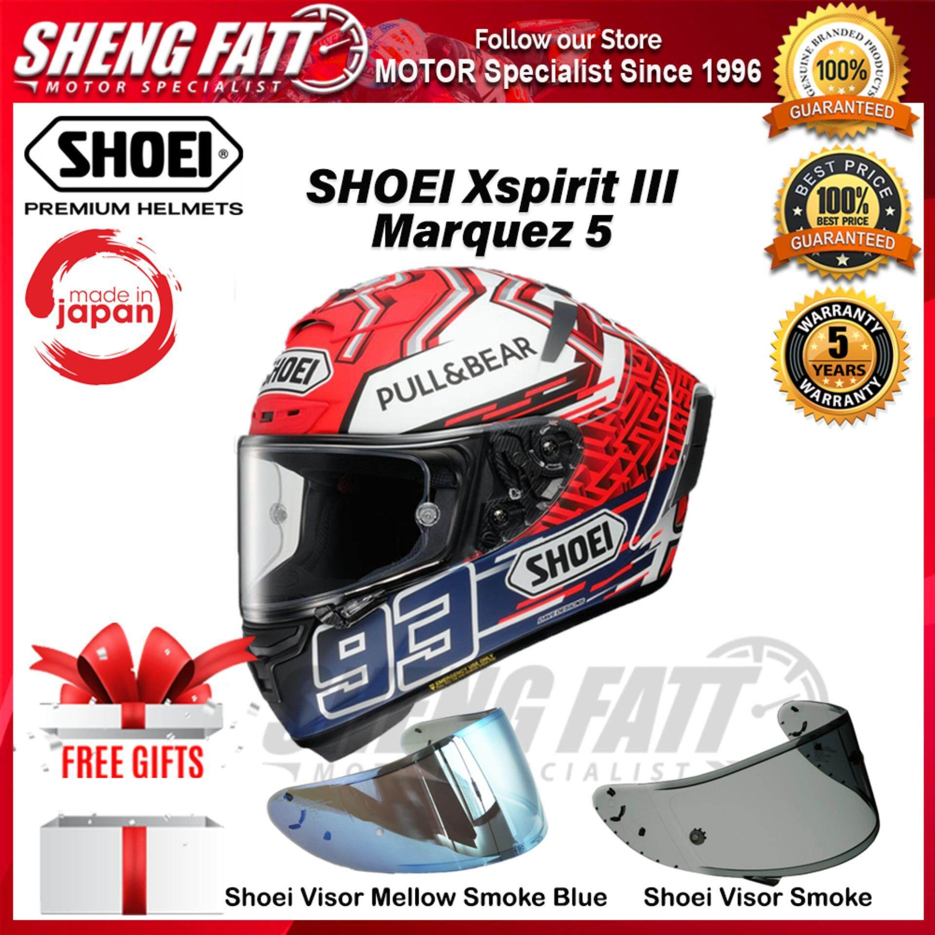 SHOEI X-SPIRIT 3 MARQUEZ 5 TC1 - FULL FACE HELMET [ORIGINAL]