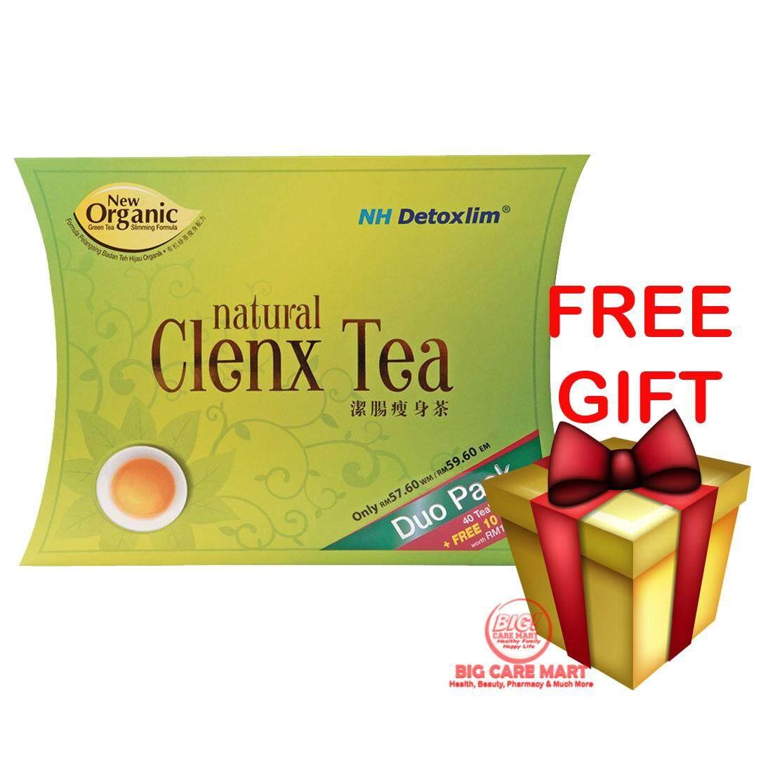 NH Detoxlim Natural Clenx Tea 50+5 Sachets + FREE GIFT