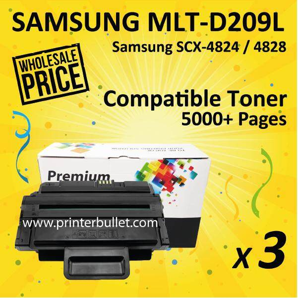 3 unit 209L / MLT-D209L / MLTD209L High Quality Compatible Toner Cartridge For SCX-4824FN / SCX-4826FN / SCX-4828FN / ML-2855ND Printer Toner