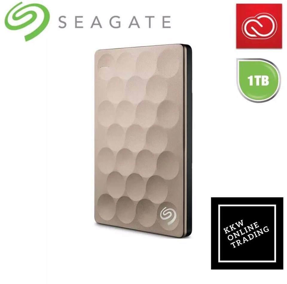 Seagate Backup Plus Ultra Slim Portable Drive 1TB (Seagate Malaysia)