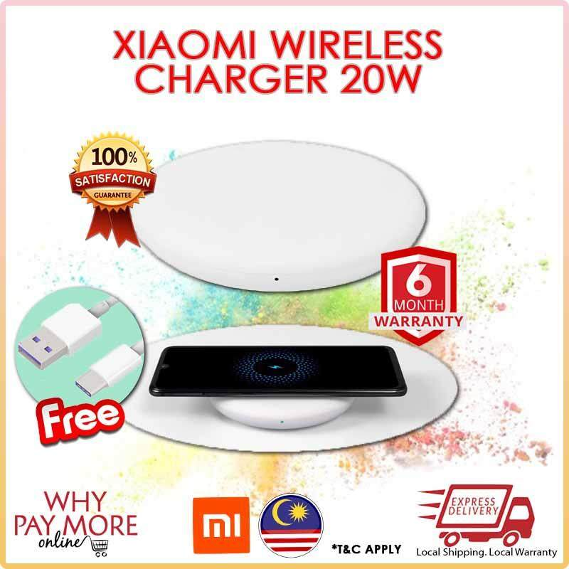 [Original] Xiaomi Wireless Charger 20W Max For Mi 9 (20W) MIX 2S / 3 (10W)