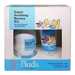 Buds: Soothing Organics Eczema Rescue Kit Set