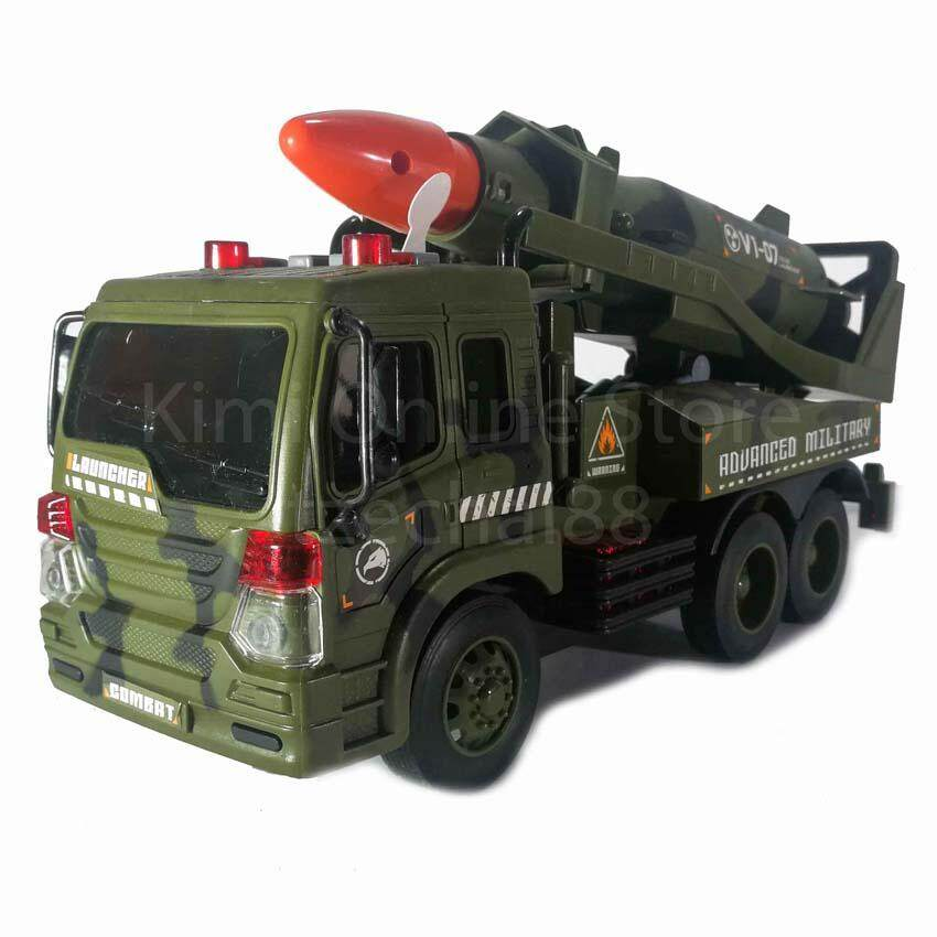 Missile Vehicle Educational Toy Sound & Light 1:16 Military Series WY650A Wen Yi