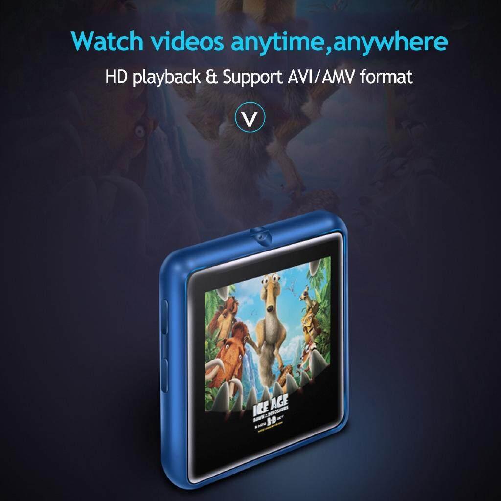 "MINI MP3 Music Player 1.44"" LCD Touch Screen FM Radio Voice 8GB / 16GB BLUETOOTH - 8GB SILVER GREY / 16GB BLUE / 8GB RED / 8GB BLUE / 16GB RED / 16GB SILVER GREY / 16GB BLACK / 8GB BLACK"
