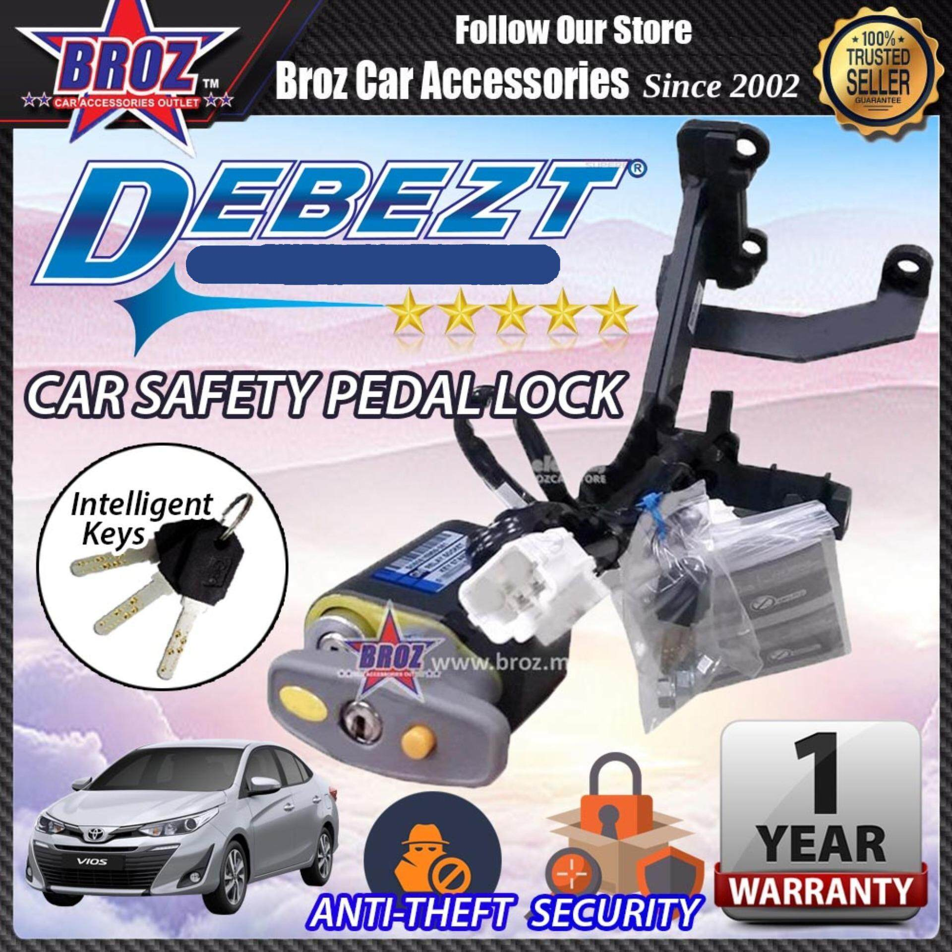 Vios 2013-2017 Debezt Auto Push Start Anti Theft Double Pedal Lock