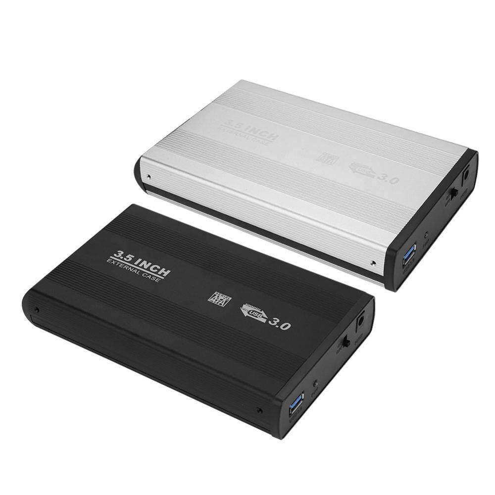 Internal Hard Drives - Hard Disk Drive External HDD Enclosure Case USB 3.0 SATA HDD Box - [US BLACK / EU BLACK / US SILVER / EU SILVER]
