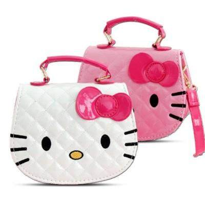 Hello Kitty Bag Cartoon Shoulder Handbag Cute Sling Tote Beg Bags Kids
