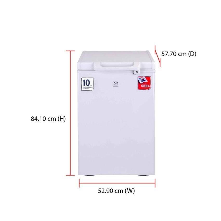 Daewoo Chest Freezer DCF-150W (100L)