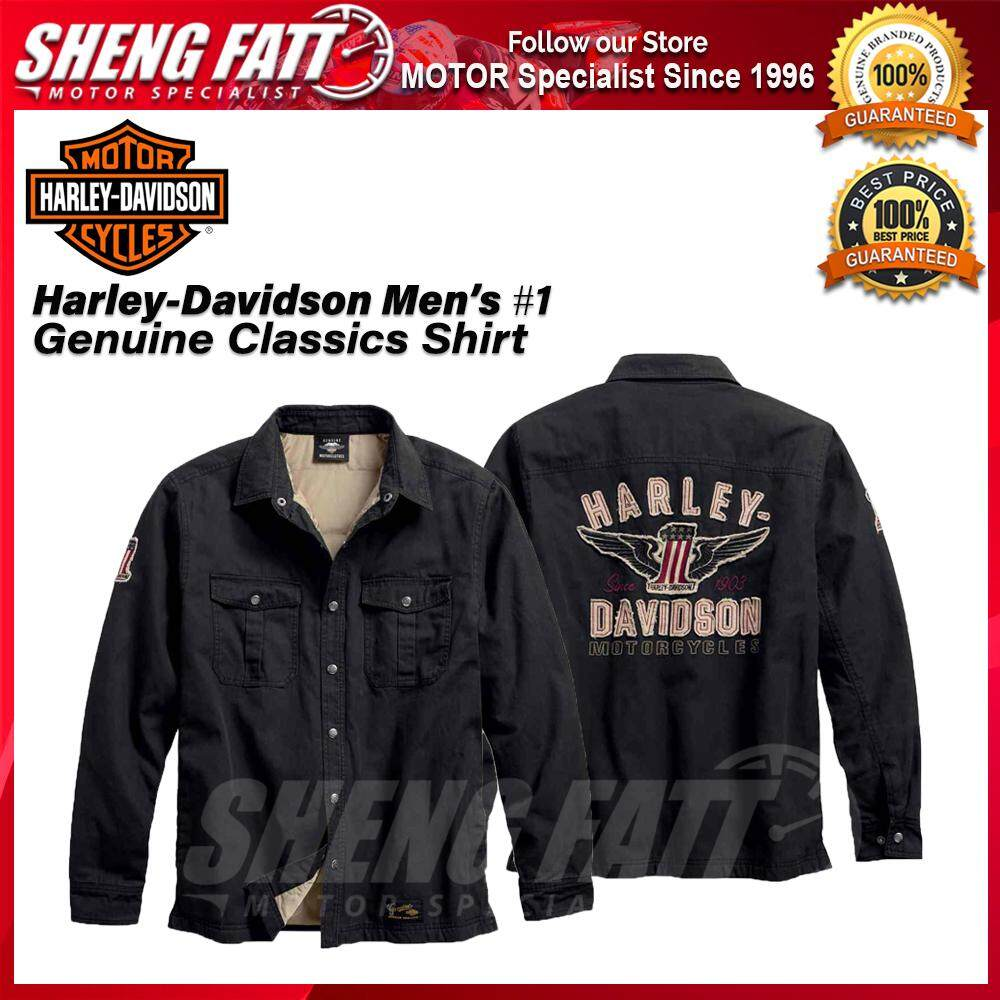 Harley-Davidson Men's #1 Genuine Classics Shirt Jacket - [ORIGINAL]
